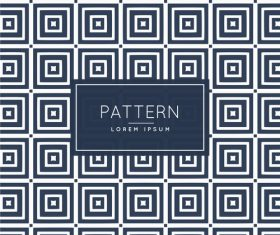Black squares creative pattern background vector