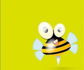 Cartoon bee vectors