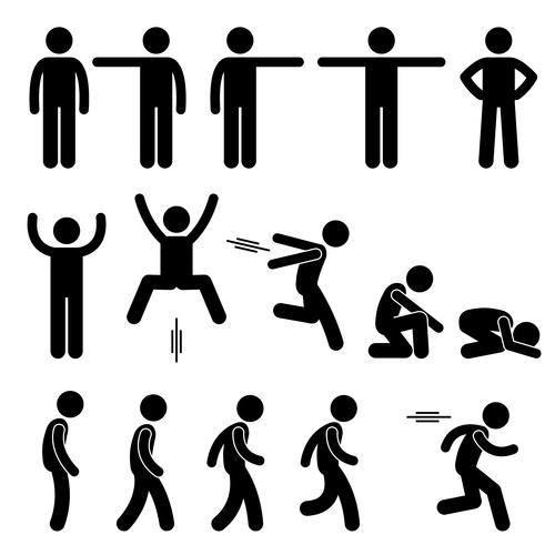 Cartoon character sport icon vector