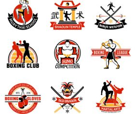 Character Sports Stickers Tab vector