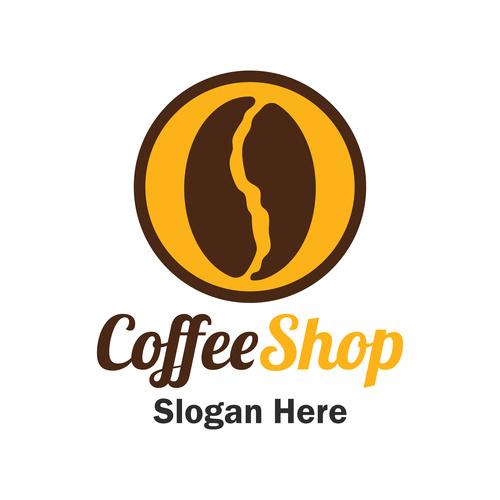 Coffee bean cover vector
