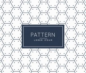 Creative pattern background vector