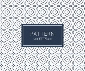 Creative pattern white background black flowers vector