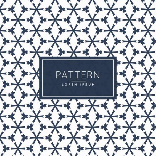 Cross texture creative pattern background vector