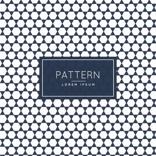 Diamond block creative pattern background vector
