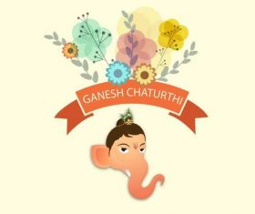 Festival of Ganesh Chaturthi vector