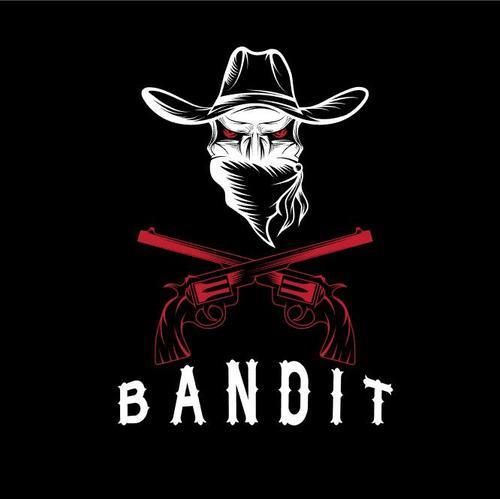 Fierce bandit emblems vector