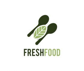 Fresh food logo creative design vectors 01