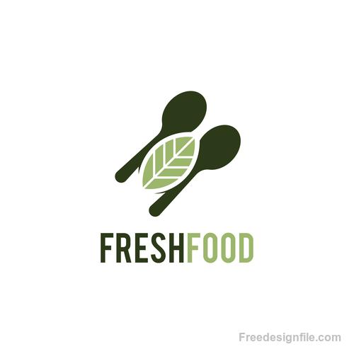 Fresh food logo creative design vectors 01