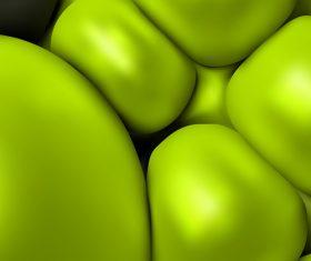 Green geometrical spheres backgrounds vectors