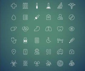 Healthcare icon vector