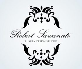 Luxury design logo vector