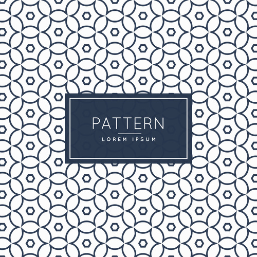Multilateral diamond shaped creative pattern background vector