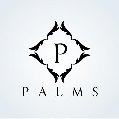 Palms logo vector