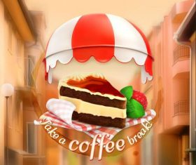 Pastry cover vector