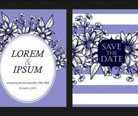 Romantic illustration banner