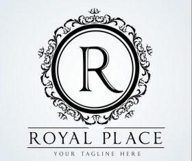 Royal place logo vector