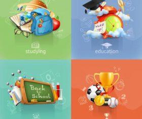 School education subject vector