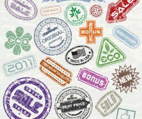 Shop Stamp vectors