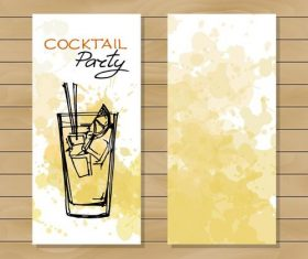 Sketch paety drink vector