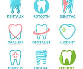 Tooth protection logo vector