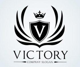 Victory logo vector