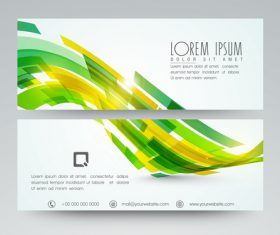 Website Header and Banner vector