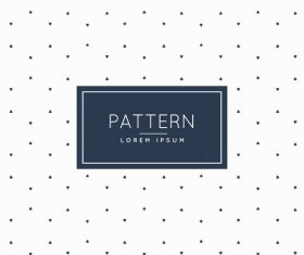 White spotted background creative pattern vector