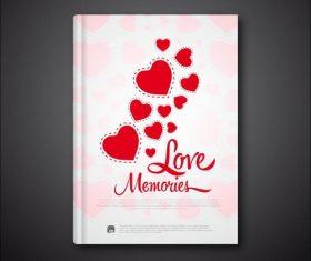 book book love vectors