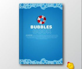 book bubbles vectors