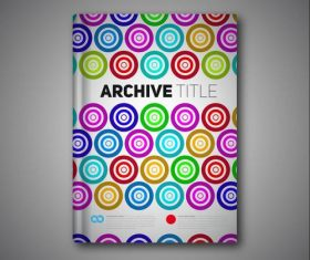 book report archive circle vectors