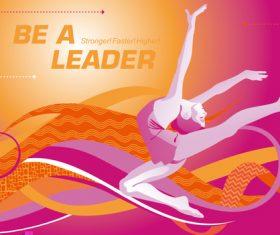 lead dancer vector