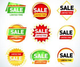 sale limited set vector