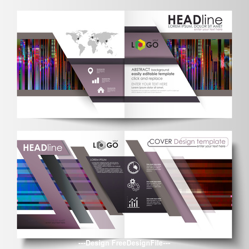 Abstract company template logo vector