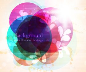 Abstract illustration for design background vector