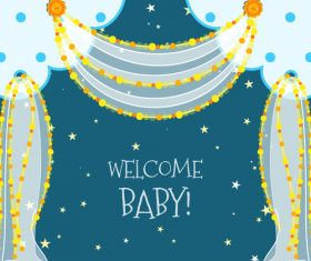 Baby Shower vector 05