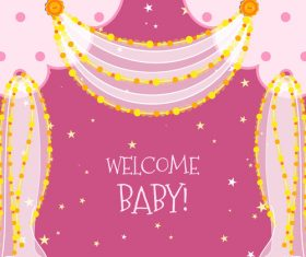 Baby Shower vector 06