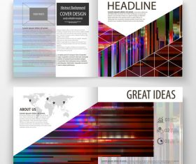 Business templates banner vector