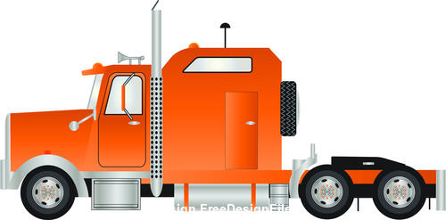 Cartoon car head vector