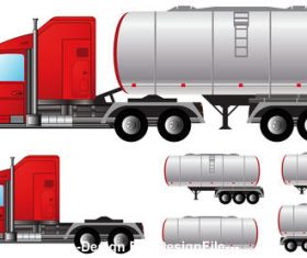 Cartoon liquid transporter vector