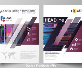 Company Business templates cover vector