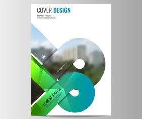 Company brochure design vector 01
