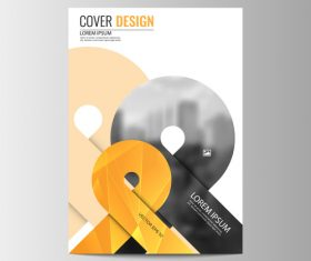 Company brochure design vector 02