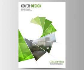 Company brochure design vector 03