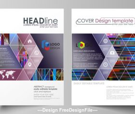 Company template design vector