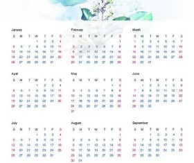 Calendario 2020 Vector Gratis.2020 Vector For Free Download