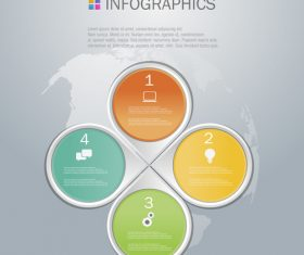 Diamond shape infographics design template vector