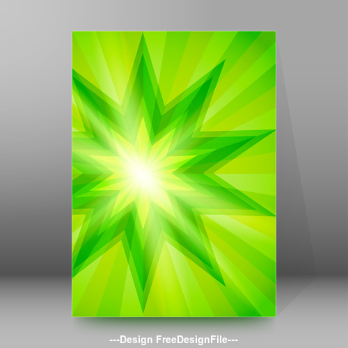 Explosion background brochure cover vector
