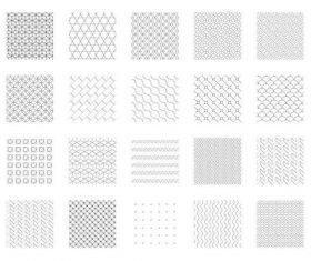 Geometric patterns commercial vector