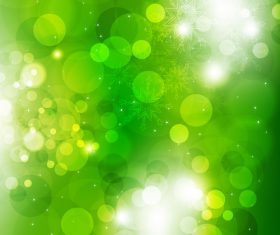 Green abstract virtual background vector